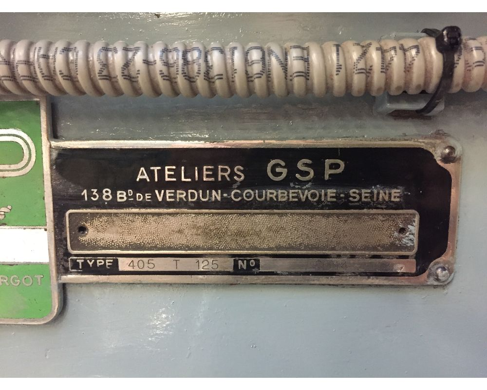 GSP 405 T 125