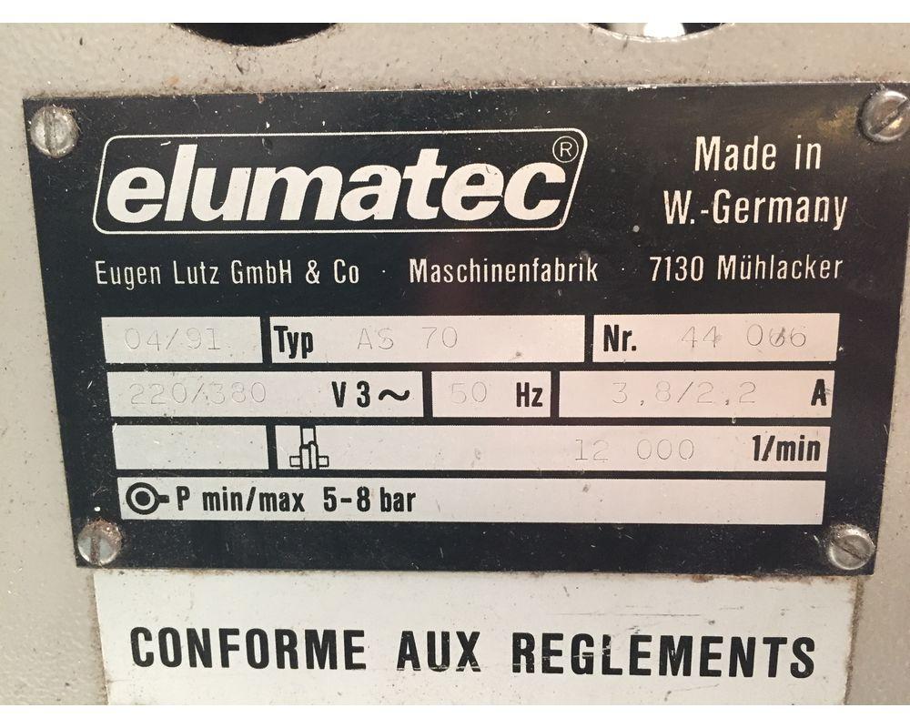 ELUMATEC AS 70