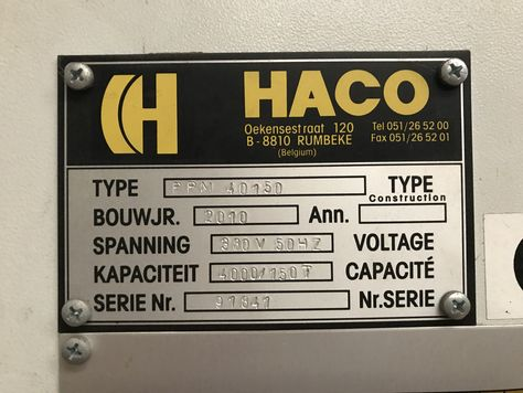 HACO PPM 40150
