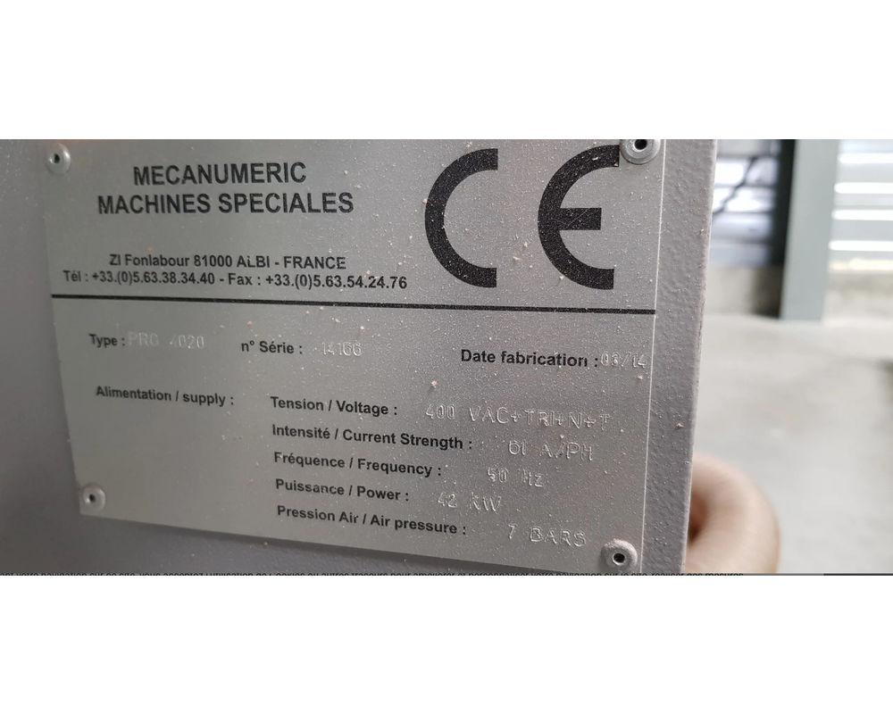 MECANUMERIC PRO 4020