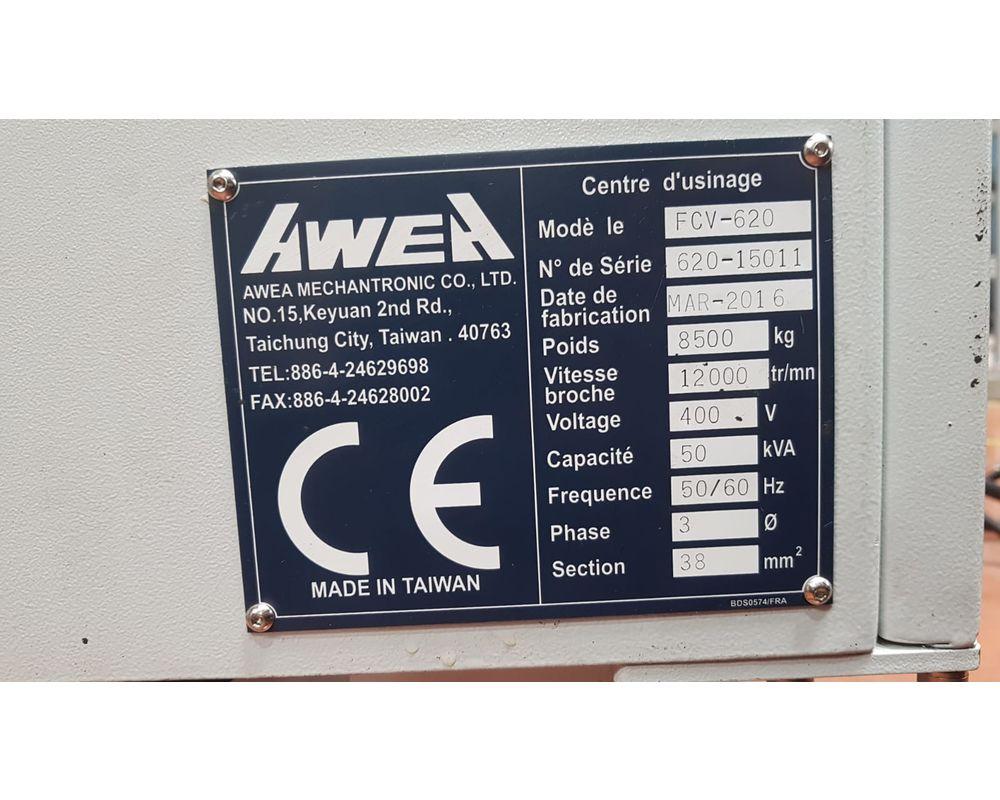 AWEA FCV 620 - 5 axes